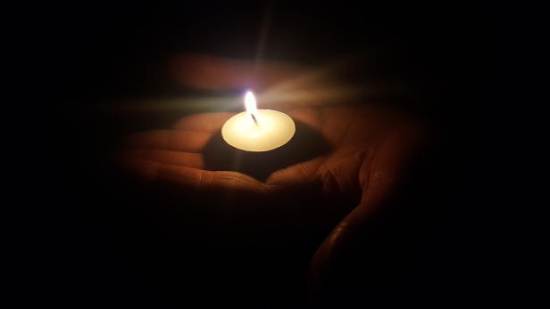 Optimism reposted: Rather light a candle than complain about darkness